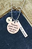 Teachers Plant Seeds That Grow Forever Necklace – DII ABC - Thank You