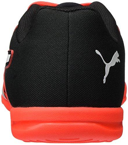 Puma Herren evoSPEED Sala Graphic Fußballschuhe Rot (Red blast-White-Black 01)