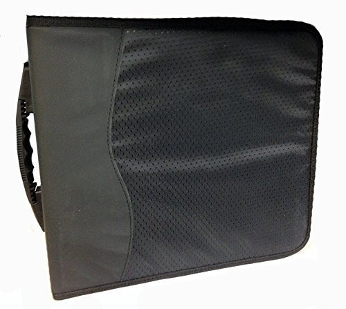 Deluxe CD/DVD Media Case (504 Discs, Black)