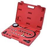 """Goplus 19pc Cylinder Compression Test Kit, 2.5"""" Compression Gauge, Engine Pressure Tester Meter Tool Kit Set For Diesel Vehicle Cylinder Diagnostic"""