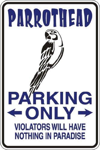 StickerPirate Parrothead Parking Only 8