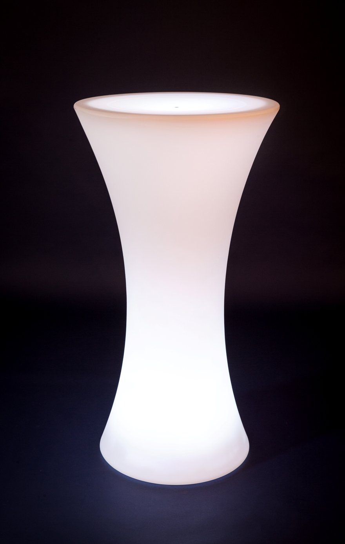 Hapro LED Stehtisch beleuchtet - Biertisch - Bistrotisch ...