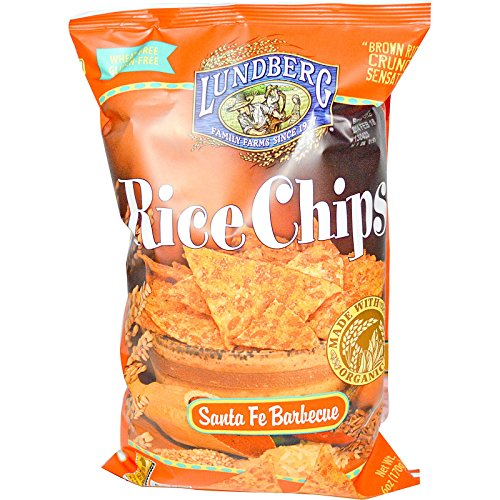 Lundberg, Rice Chips, Santa Fe Barbecue, 6 oz (170 g) - (Santa Fe Bbq)