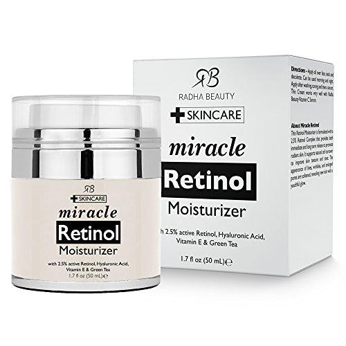 Radha-Beauty-Retinol-Moisturizer-Cream-for-Face-and-Eye-Area-17-Oz-With-Retinol-Hyaluronic-Acid-vitamin-e-and-Green-Tea-Night-and-Day-Moisturizing-Cream