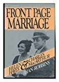 Front Page Marriage, Jhan Robbins, 0399126910