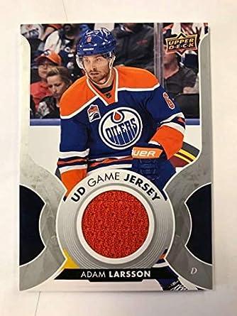 Amazon.com  2017-18 Upper Deck Game Jersey  GJ-LA Adam Larsson ... 44697f838