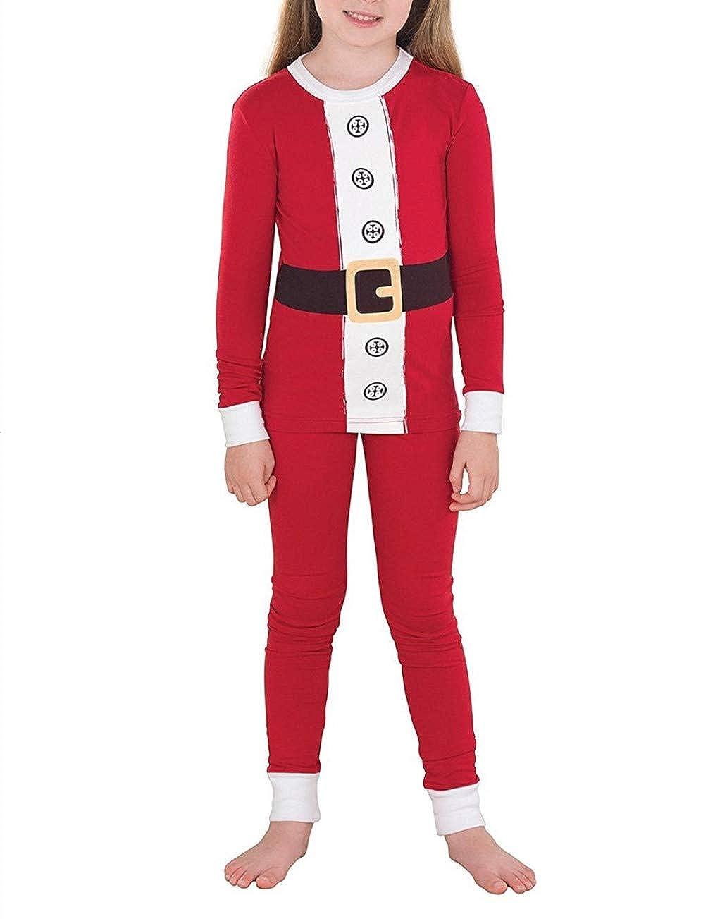 Q/&Y Matching Christmas Pajamas for Family Sleepwear Nightwear Red Pajamas Set