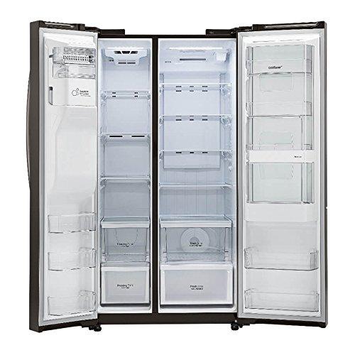 LG Ft. Black Side-By-Side Refrigerator - Energy Star