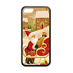 diy zhengMerry Christmas fashion practical Phone Case for iphone 5/5s(TPU)