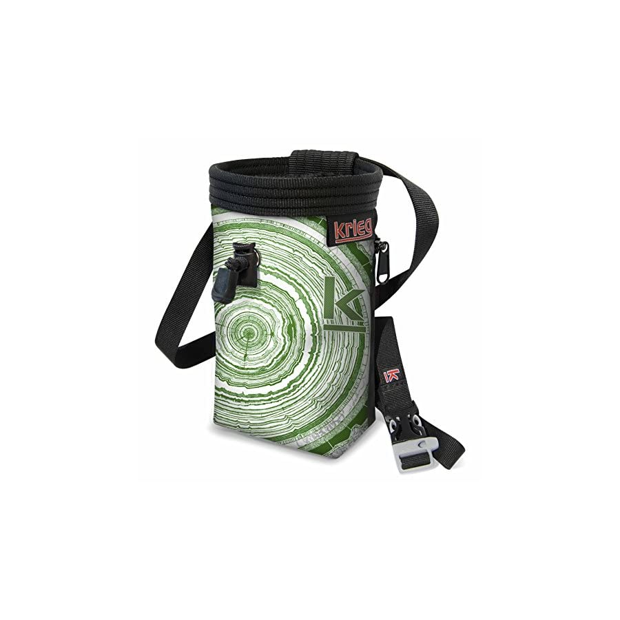 Green Tree Ring Chalk Bag