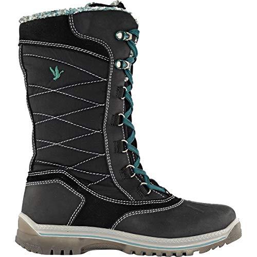 adc61745332 Santana Canada Womens Mohawk Black Boot - 9
