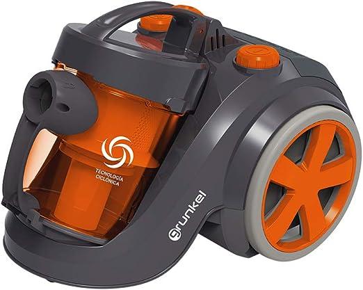 Grunkel - ASP-AA CYCLONIC - Aspiradora Ciclónica con Accesorios y eficiencia A+ - 700W - Negro: Amazon.es: Hogar