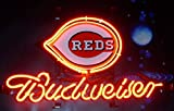 Desung Brand New 14''x10'' B udweiser Sports Team C-Reds Neon Sign (Various Sizes) Beer Bar Pub Man Cave Glass Neon Light Lamp BW57