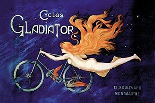 Cycles Gladiator 1895 Poster Print by Unknown (24 x ()