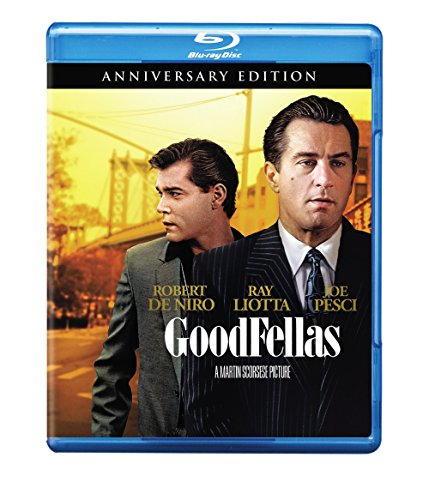 Blu-ray : Goodfellas (25th Anniversary) (Anniversary Edition, Eco Amaray Case)