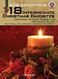 img - for WF101 - 18 Intermediate Christmas Favorites with Data/Accompaniment CD - Alto Saxophone by Arranged by Carl Strommen and Larry Clark (2010-09-14) book / textbook / text book