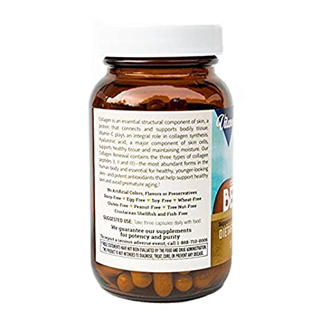 Amazon.com: Vitanova Beauty Collagen Renewal Supplement, 90 Capsules: Health & Personal Care
