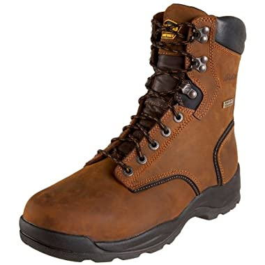 LaCrosse Men's 8  Quad Comfort 4X8 HD Steel Toe Work Boot,Brown,13 M US