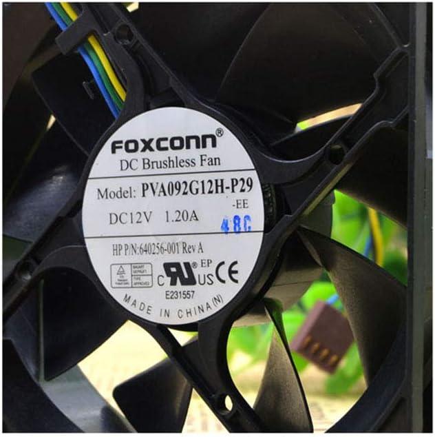 Cytom for FOXCONN 9025 9CM PVA092G12H-P29-EE HP 640256-001 12V Fan