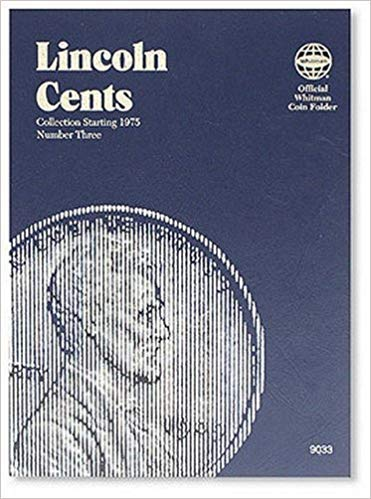 [0307090337] [9780307090331] Lincoln Cents Folder Starting 1975 (Official Whitman Coin Folder) – Hardcover