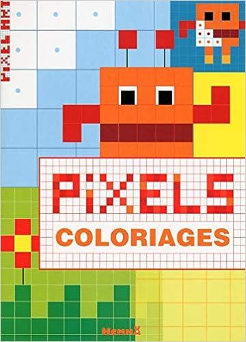 Pixel Art Coloriage Amazonfr Collectif Livres