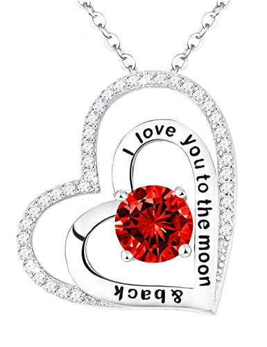 Double Heart Pendant Jewelry (Valentines Day Gift Double Hearts Pendant Jewelry Engraved