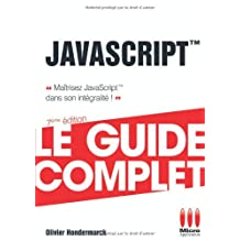 GUIDE COMPLET JAVASCRIPT