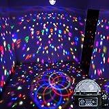 Adsled 9 LED Remote Control DMX 512 Crystal Magic Ball Effect Light Digital...