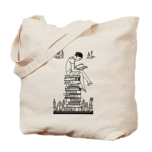 CafePress Reading Natural Canvas Shopping