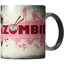Morphing Mugs iZombie (Fully Awesome) Ceramic Mug, Black