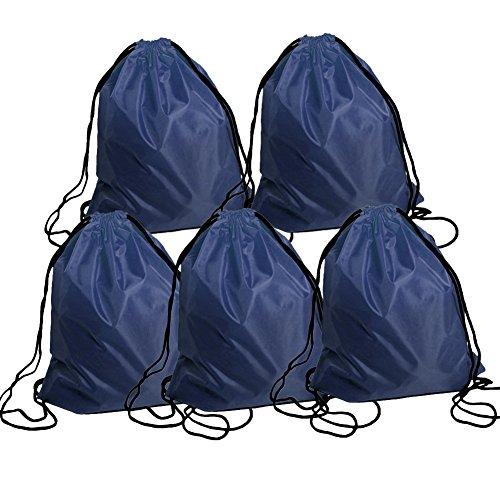 Metallic Drawstring Bags - 6