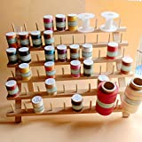 NW Wooden Thread Holder Sewing and Embroidery