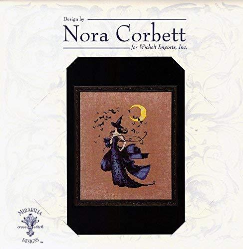 Mirabilia Nora Corbett Counted Cross Stitch Chart ~ RAVEN #222