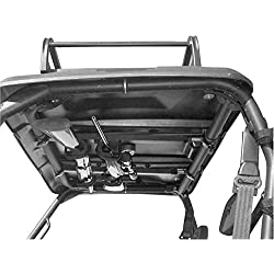 UTV Overhead Gun Rack by For John Deere Gator 825 | 15.0 to 23.0 front to back Great Day