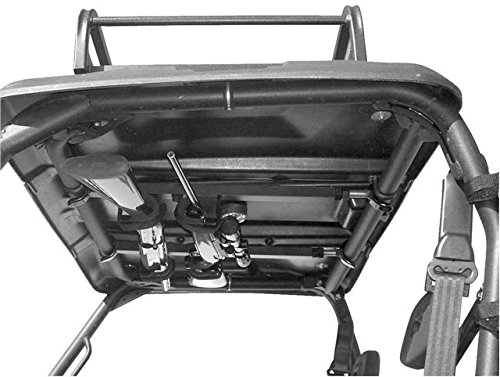 UTV Gun Rack - UTV Overhead Gun Rack For Kawasaki Mule 4010 | 23.0'' to 28.0'' front to back by Great Day by Great Day