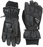 kombi glove liner - Kombi Kids & Baby Hustle Jr Cold Weather Gloves, Medium, Black