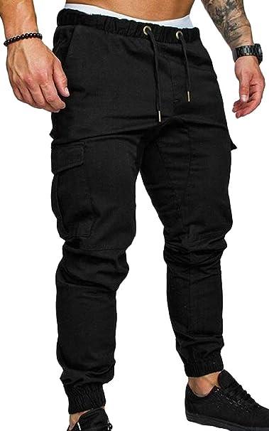 estilo clásico de 2019 super calidad diseño exquisito Jaycargogo Pantalones de Chino Cargo para Hombre, Ajustados ...