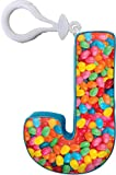 j press tie - iscream Luscious Letters! Vanilla Scented Letter J Initial Mini Microbead Pillow Backpack Charm