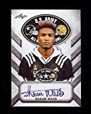 SHAUN WADE OHIO STATE BUCKEYES 2017 LEAF U.S. ARMY HIGH SCHOOL TOUR ALL-AMERICAN AUTOGRAPHED ROOKIE CARD!