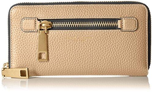 Marc Jacobs Women's Gotham Standard Continental Wallet, Sand, One Size (Marc Jacobs Beige)