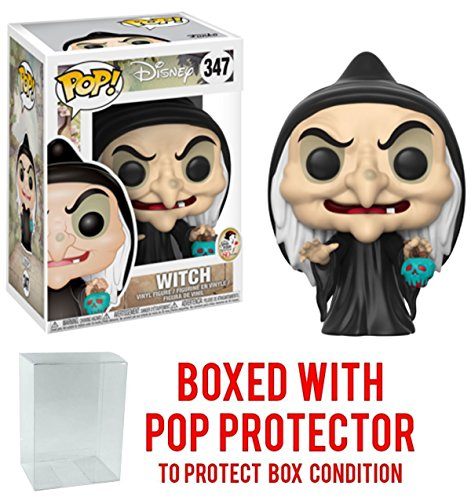 Creative Twigg Snow White and the Seven Dwarfs Witch Pop! Vinyl Figure and (Bundled with Pop BOX PROTECTOR CASE)