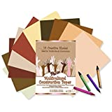 Pacon PAC9509 Multicultural Construction Paper, 10 Skintone Hues, 9 X 12, 50 Sheets (Set of 3), Assorted Colors