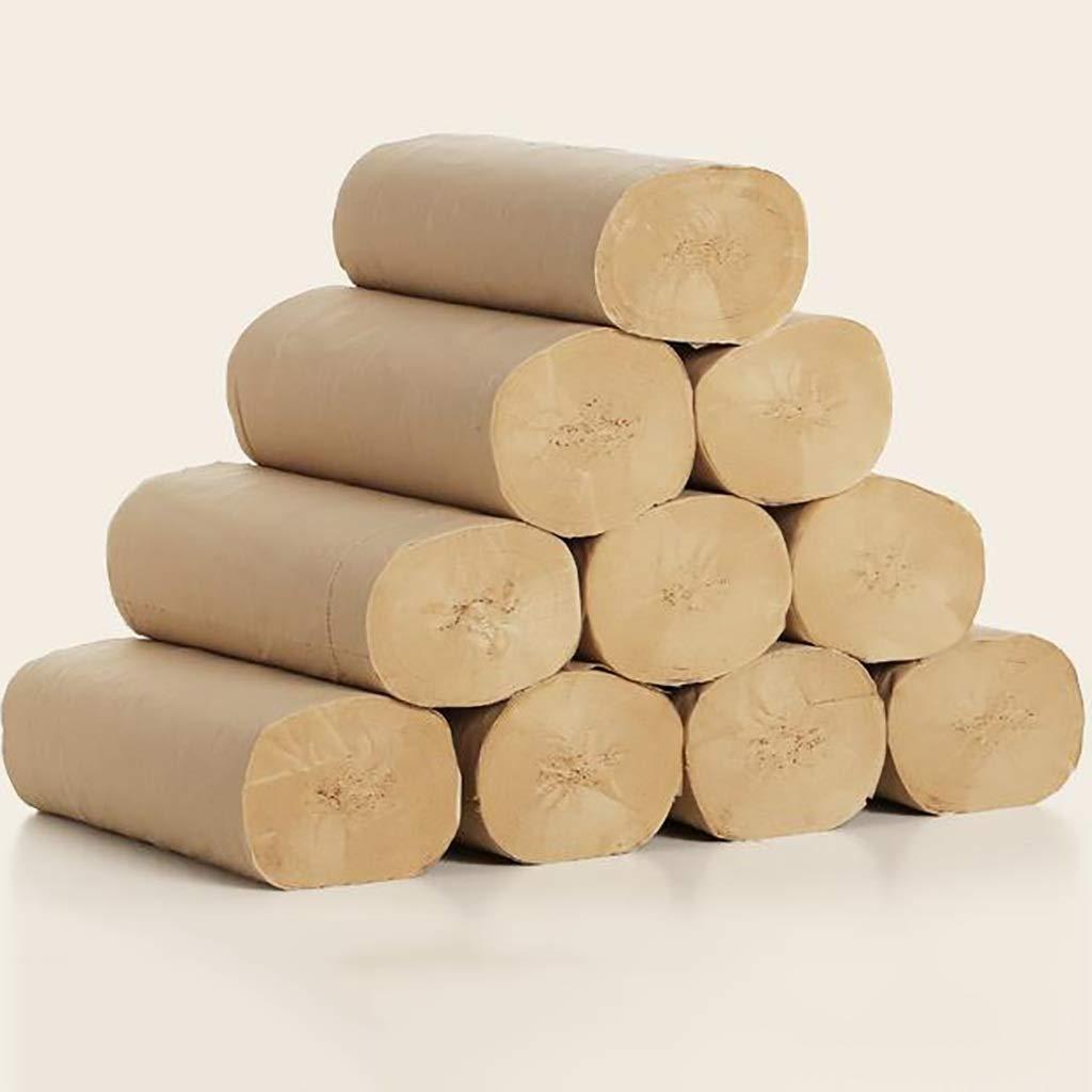 竹パルプトイレットペーパー80 g 48ロールコアレスロール紙、無添加剤、滑らかな感触 B07RL4SG1H