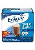 Ensure Bottles, Milk Chocolate, 8-Ounces, 16 Count Bottles, Health Care Stuffs