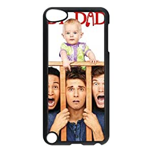 Popular And Durable Designed TPU Case With Baby Daddy iPod Touch 5 Case Black