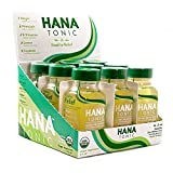 Hana Tonic Anti Nausea Ginger Shot - Fast Acting Organic Relief from Motion & Morning Sickness - Safe, Boosts Daily Immunity, Aids Digestion and Tastes Great! (9 Pack)