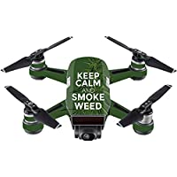 Skin For DJI Spark Mini – Smoke Weed | MightySkins Protective, Durable, and Unique Vinyl Decal wrap cover | Easy To Apply, Remove, and Change Styles | Made in the USA