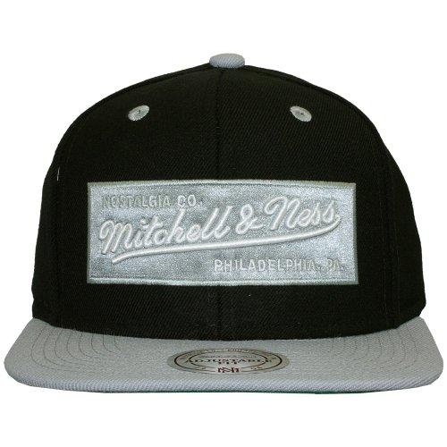 hombre béisbol Ness de Gorra negro amp; para Mitchell M Negro TxFwYq5