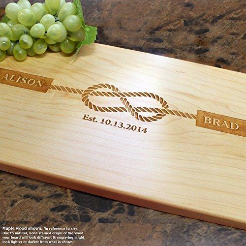 Board, Custom Keepsake, Engraved Serving Cheese Plate, Wedding, Anniversary, Engagement, Housewarming, Birthday, Corporate, Closing Gift #805 ()