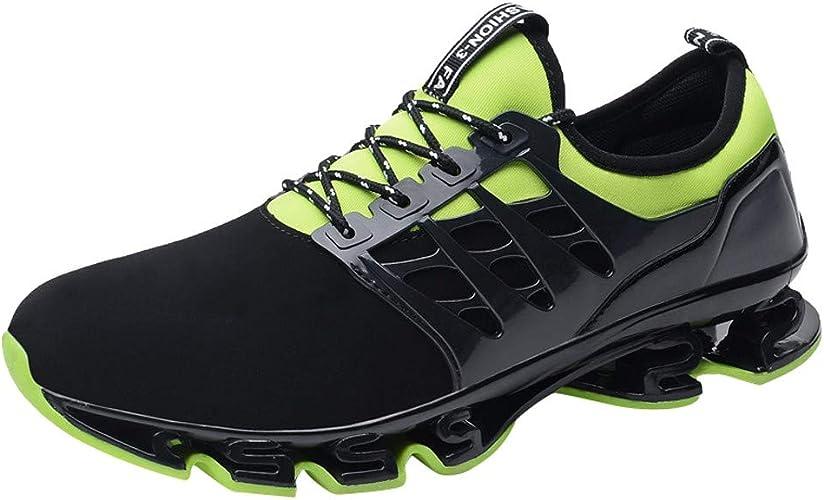 ALIKEEY Los Hombres De Deportes Casual Zapatos Transpirables ...